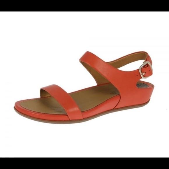 52a5c81985e54 Fitflop Shoes - Burnt orange fitflop slingback sandals back strap